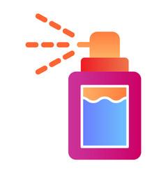 Aerosol flat icon deodorant color icons in trendy vector