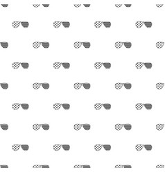 American glasses pattern vector