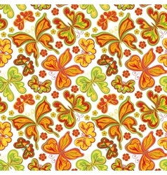 Beautiful background seamless pattern with flying vector