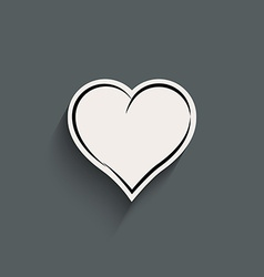Heart - icon vector image