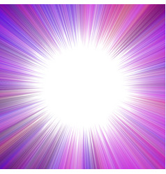 Purple psychedelic abstract ray burst background vector