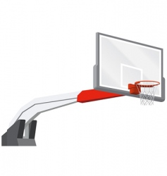 Vector basketball backboard vector