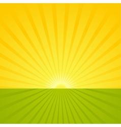 Sunrise Scene vector image vector image