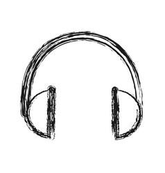 headphones icon imag vector image vector image