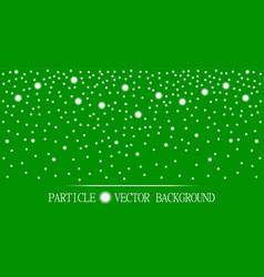 abstract falling snow particles burgundy green vector image