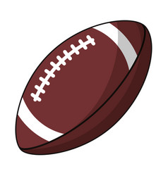 American football sport image vector