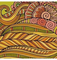 Decorative ornamental ethnic background vector