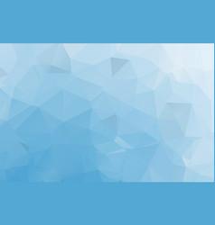 light blue polygonal background creative vector image