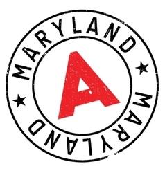 Maryland stamp rubber grunge vector