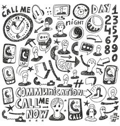 Mobile Phonescommunication vector image
