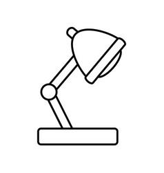 night light lamp vector image