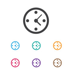 Of business symbol on time vector