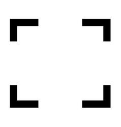Symbol full screen vector