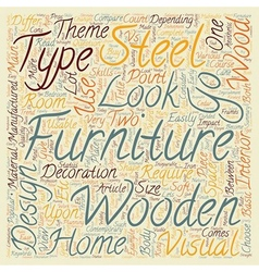 Wooden vs steel furniture which one should i vector