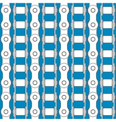 Bike chains pattern vector image