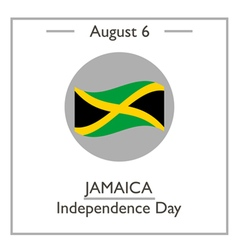 Jamaica Independence Day vector image vector image