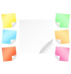 post-it vector image