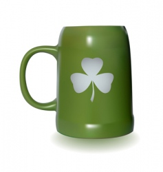 St Patrick's Day symbol vector image vector image