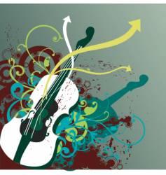 Funk musical instrument vector