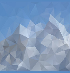 abstract irregular polygonal square background - vector image