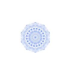art blue lace vector image