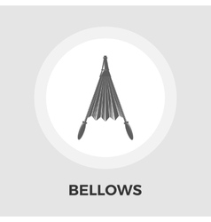 Bellows Flat Icon vector image
