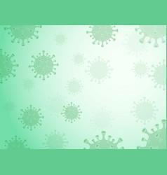 Coronavirus background vector