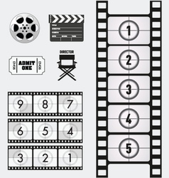 Movie and Cinema graphics vector