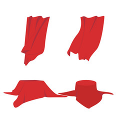 Set for cloth vector