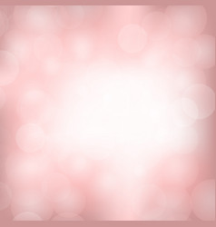 pink blurred light background vector image