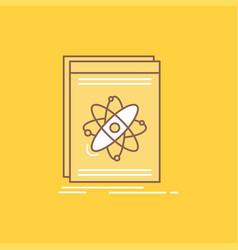 api application developer platform science flat vector image