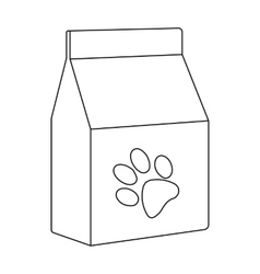 Cat food icon of for web and vector