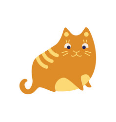 Cat hair icon simple element from allergy vector