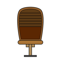 executive offfice chair vector image