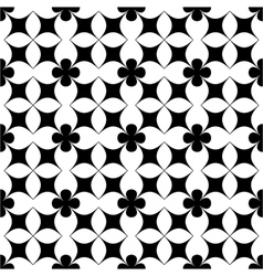 Flower abstract seamless pattern 6 vector image