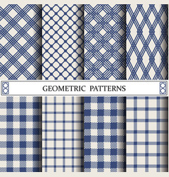 Geometric grid patternpattern fills web page vector