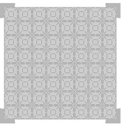 Grey dance floor background vector