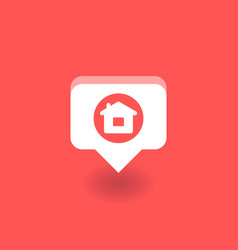 Home icon symbol vector