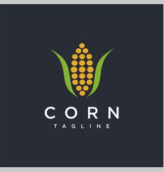 Modern abstract corn logo icon template vector