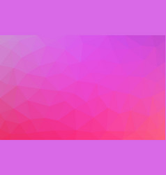 pink low poly background abstract crystal texture vector image