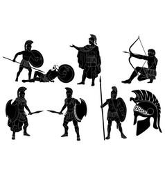Roman empire warrior vector
