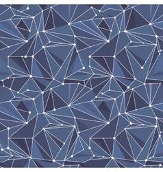 Indigo Geometric Pattern vector image