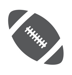 ball american football oval icon vector image