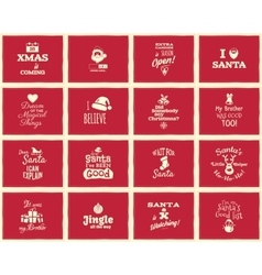 Christmas funny signs quotes backgrounds designs vector