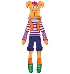 Doll - dog vector