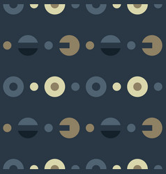 engineer system parts symmetry seamless pattern vector image