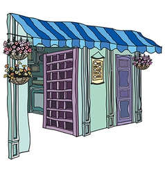 Florist Shop vector image