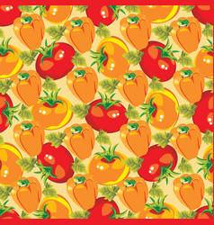 gardening seamless pattern of vector image