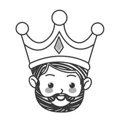 gaspar magi icon vector image
