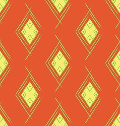 Seamless orange red carpet vector